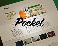 Pocket Website Theme Design
