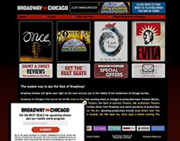 Older Website Project | Broadway In Chicago