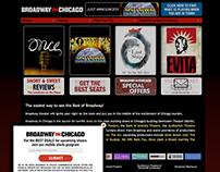 Older Website Project | Broadway In Chicago