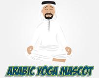 Arabic Yoga Mascot