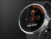 Soundcloud Google Watch Concept