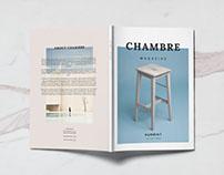 Chambre magazine template