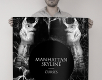 Manhattan Skyline - Curses Poster