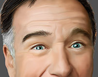 Robin Williams digi paint