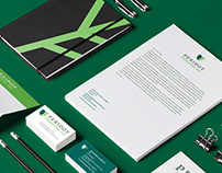 Peridot Consulting Logo Design and Branding
