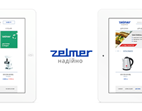 Zelmer - e-stores platform