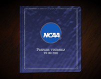 NCAA Student Going Pro