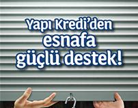 Yapı Kredi Esnafa Güçlü Destek Kampanyası (2012)