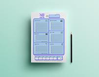 Quiz Wiz Document Design & Logo