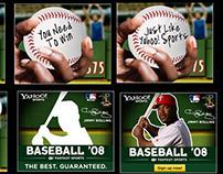 """Yahoo Sports Baseball"" Online Banner Campaign"