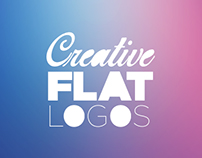 Creative Flat Logo Design Showcase