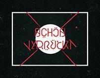 Schön & Verrückt - Ambigram