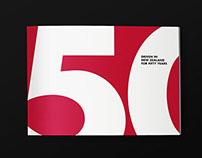 Hino - 50 years brochure