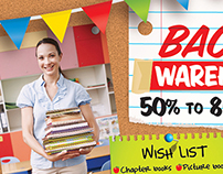 Scholastic Back to School Warehouse Sale