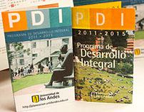 Plegable Programa de Desarrollo Integral