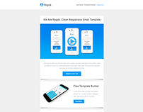 Regok, Responsive Newsletter with Template Builder