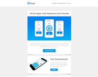 Regok, Responsive Newsletter with Template Builder