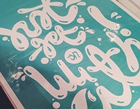 Hand drawn typography - WIP.