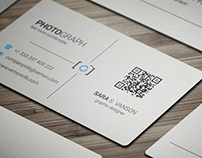 Corporate business card 018