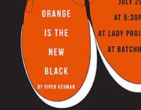 Orange is the New Black book club invitation
