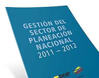 informe gestión del sector de planeación nacional