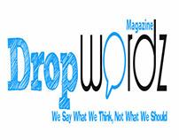 Drop Wordz Magazine Banner