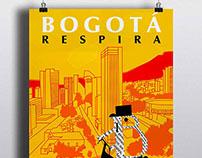 "Propuesta Poster ""BOGOTÁ RESPIRA"""
