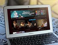 """Propuesta sitio web """"Quieromusicos.com"""""""