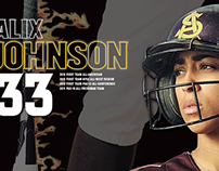 2013 Sun Devil Softball Senior Posters