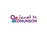 Janet M Edmunson - Logo and business cards