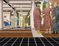 """Piero Della Francesca """"Flagellazione di Cristo"""""""