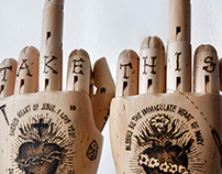 """""""Two left hands"""", """"The third finger"""" project"""