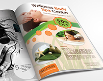 Wellness and Spa Flyer