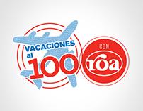 Vacaciones al 100 con Roa