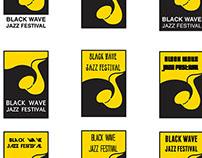 Black Wave Jazz Festival Design Proposal
