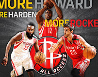 More Rockets - Arena Concourse Ad