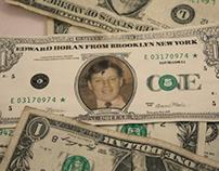 Personalized Dollar Bill
