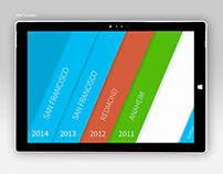 A Microsoft /build app for Windows 8