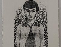 Sayat Nova - two etchings- 2014