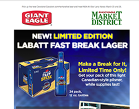 Giant Eagle Larry Nance Store Appearance Email Promo