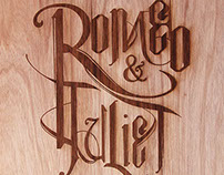 Romeo & Juliet Mixed Typeface Design