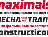 Robofan typeface