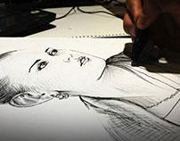 dibujos con esfero