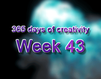 365 days of creativity/art - Week 43