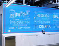 Brighter 'Brand Story' Wall Decall