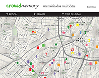 CrowdMemory - Memória das multidões