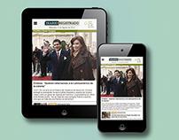 Diario Online - Diseño + Maquetación