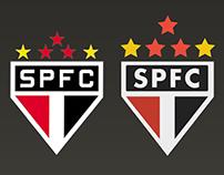 São Paulo FC Logo in Flat
