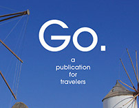 Go. Magazine layout