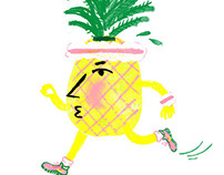 Pineapple series for Nothing Serious